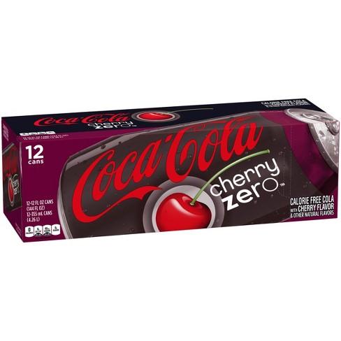 Coca-Cola Cherry Zero - 12pk/12 fl oz Cans - image 1 of 3