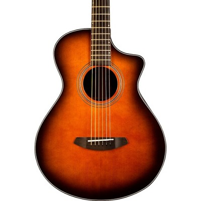 Breedlove Organic Collection Performer Concertina Cutaway CE Acoustic-Electric Guitar Bourbon Burst