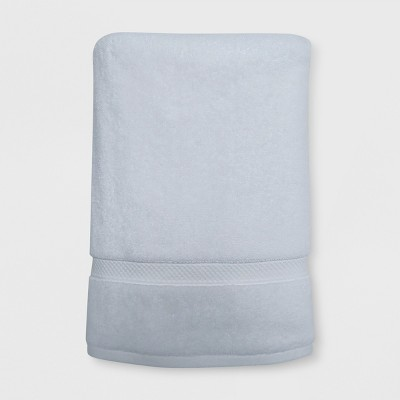 Perfectly Soft Solid Bath Sheet White - Opalhouse™