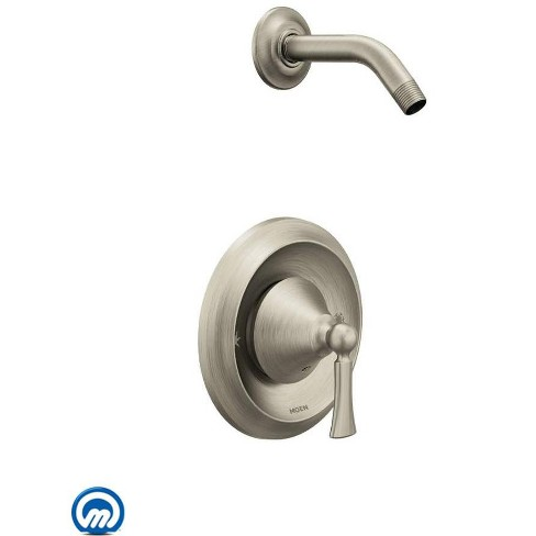 Moen T4502NH Wynford Single Handle Posi-Temp Pressure Balanced Shower Trim and Shower Arm Only (Less Valve) - image 1 of 2