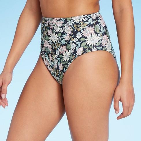 Women's Sweet Meadows Ditsy High Waist Bikini Bottom - Kona Sol™ Multi - image 1 of 4