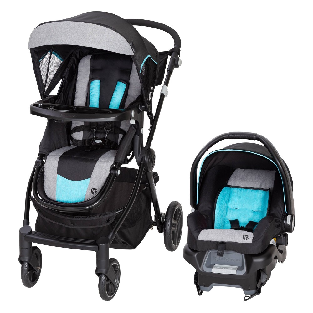 Image of Baby Trend City Clicker Pro Travel System - Soho Blue