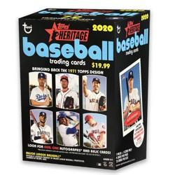 Topps 2020 Heritage Baseball Trading Card Blaster Box (Target Exclusive)
