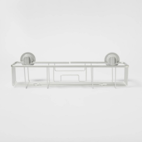 Rustproof Suction Long Basket Aluminum - Made By Design™ - image 1 of 4