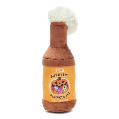 BARK Bubblin' Pumpkin Beer Dog Toy - Bubblin' Pumpkin Ale