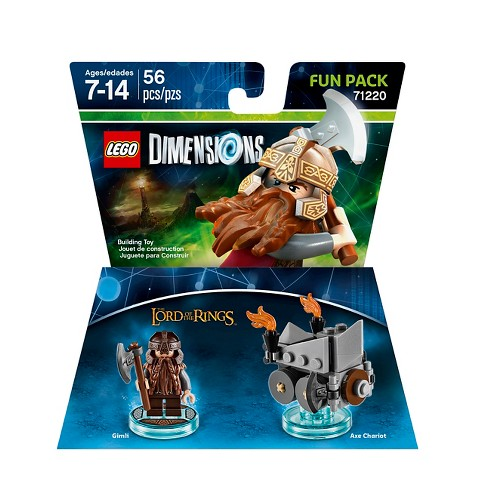 LEGO Dimensions - Lord of the Rings Fun Pack - Gimli - image 1 of 3
