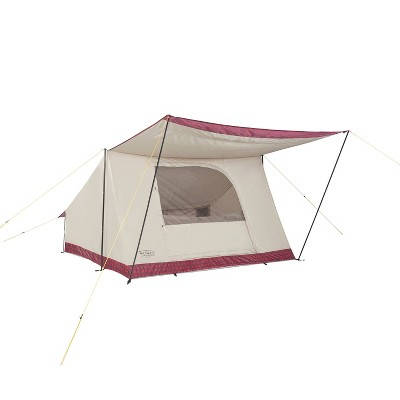 Wenzel Ballyhoo 4 Person Buffalo Plaid Tent - Red