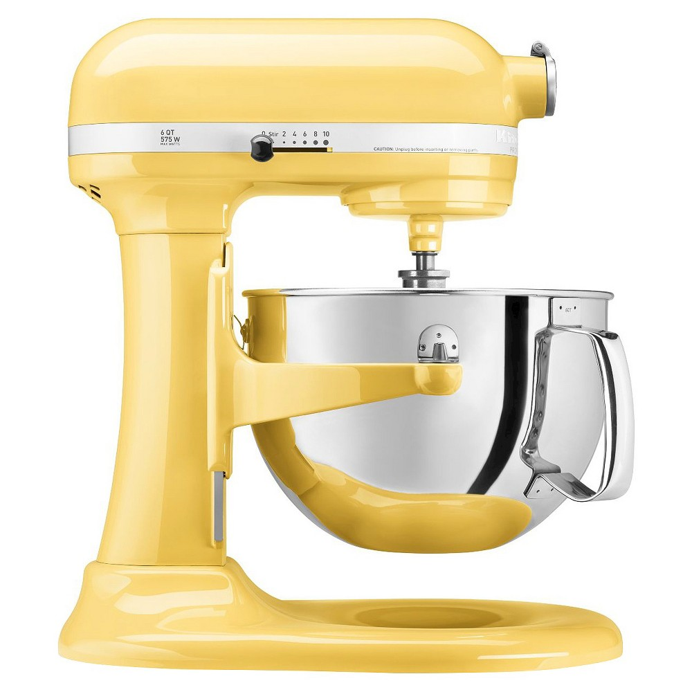 KitchenAid Professional 600 Series 6-Quart Bowl-Lift Stand Mixer – KP26M1X, Majestic Yellow 15744938