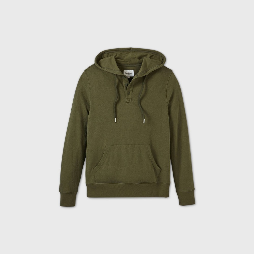 Cheap Men's Standard Fit ight Weight Heney Hoodie - Goodfeow & Co™