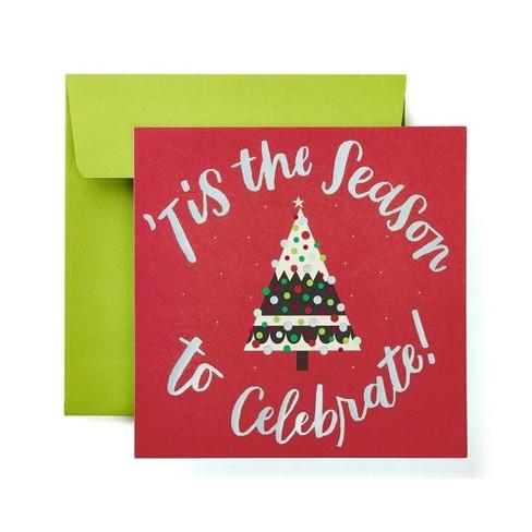 """""""Tis The Season To Celebrate"""" Card - image 1 of 6"""