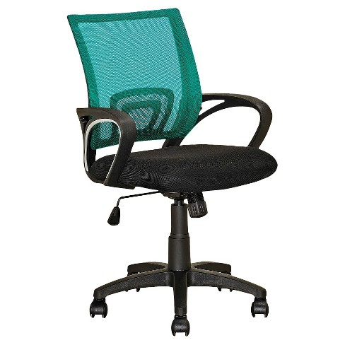 Workspace Mesh Back Office Chair Teal - CorLiving - image 1 of 4