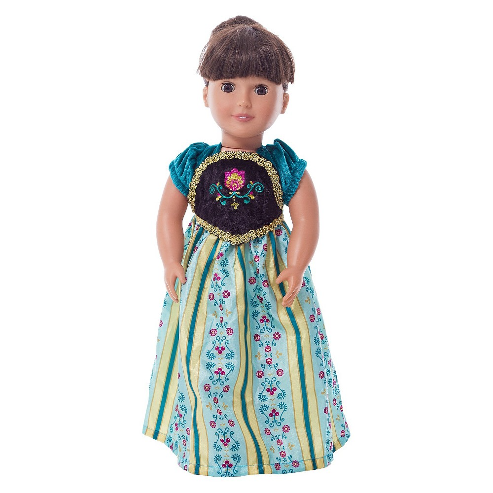 Little Adventures Doll Dress Scandinavian Princess Coronation