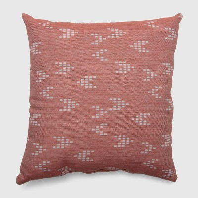 Square Staccato Outdoor Pillow Warm - Threshold™