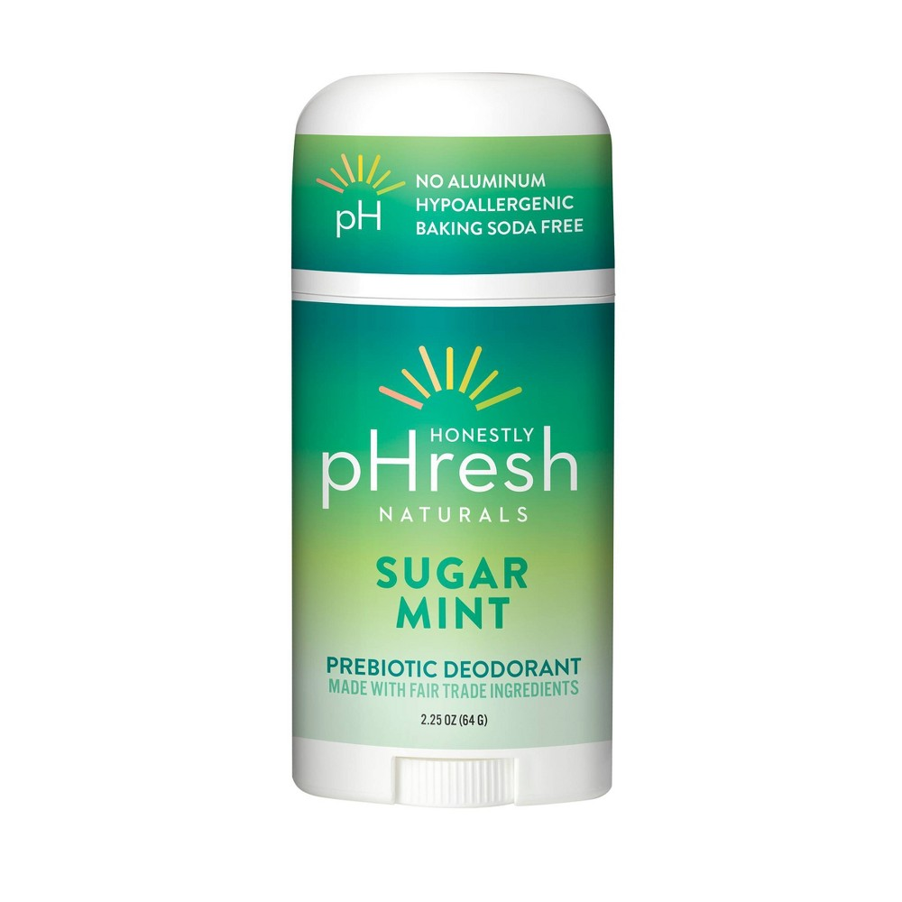 Image of Honestly pHresh Prebiotic Deodorant Sugar Mint Deodorant - 2.25oz