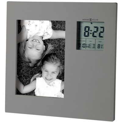 Howard Miller Picture This 645-553 Digital Clock - LCD & Square with Quartz Movement