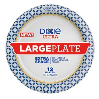 "Dixie Ultra Large Plate 11.5"" - 12ct"