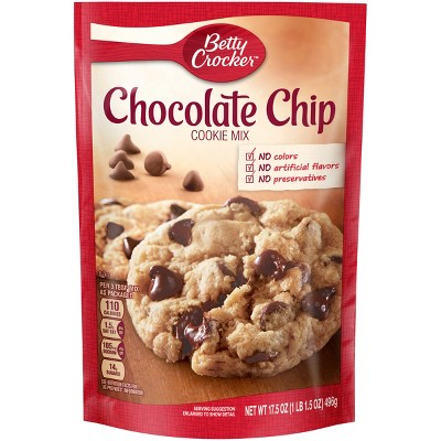 Baking Mixes: Betty Crocker Chocolate Chip Cookie Mix