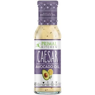 Salad Dressing & Toppings: Primal Kitchen Caesar Dressing
