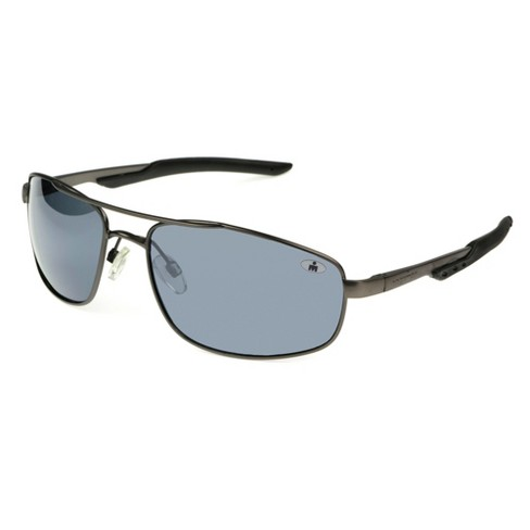 825bba20af Men s Ironman Polarized Aviator Sport Sunglasses - Gray   Target