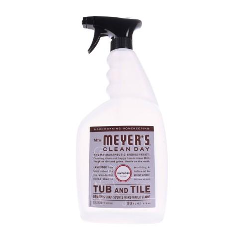 Mrs. Meyer's Lavender Tub & Tile Cleaner - 33 fl oz - image 1 of 3