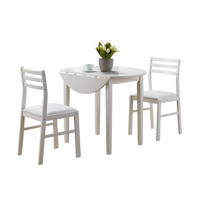 Set of 3 Dining Table and Chairs - EveryRoom