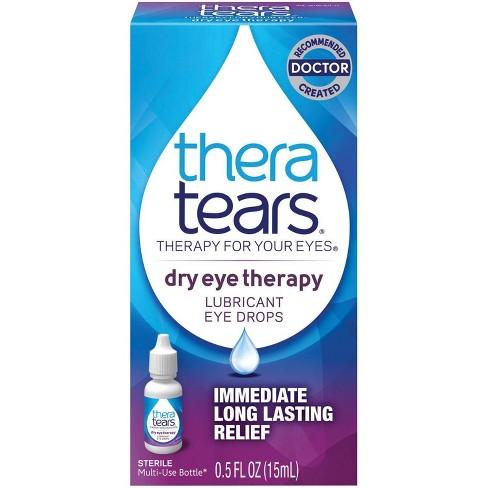 Thera Tears Lubricant Eye Drops 0.5 Fl Oz - image 1 of 3