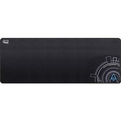 """Adesso TRUFORM P104 - 32 x 12 Inches Gaming Mouse Pad - Textured - 0.1"""" x 12"""" Dimension - Black - Rubber Base, Cloth, Fiber - Anti-slip, Scratch Proof"""