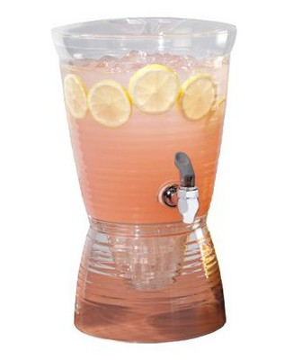 1.5gal Acrylic Beverage Dispenser - Creative Bath