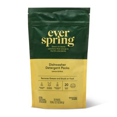 Auto Dish - Lemon & Mint - 20ct - Everspring™