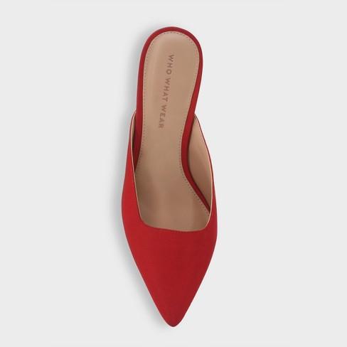 e4d435ba48f9 Women s Coco Grosgrain Kitten Heeled Mules - Who What Wear™. Shop all Who  What Wear