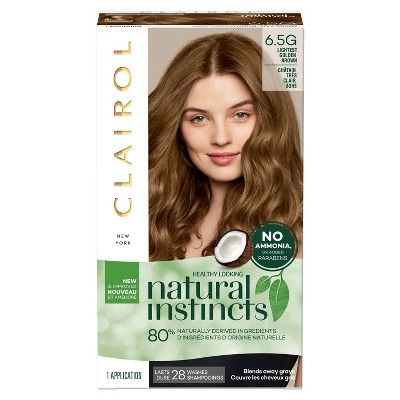 Natural Instincts Clairol Non-Permanent Hair Color – 6 5G