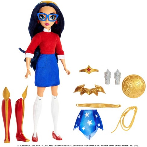 DC Super Hero Girls Teen to Super Life Wonder Woman Doll - image 1 of 4