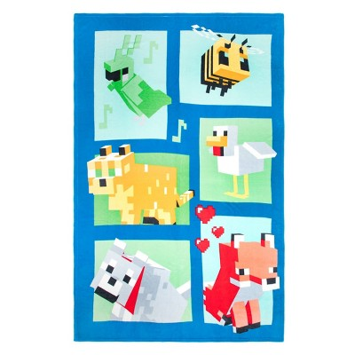 Minecraft Beautiful Day Blanket