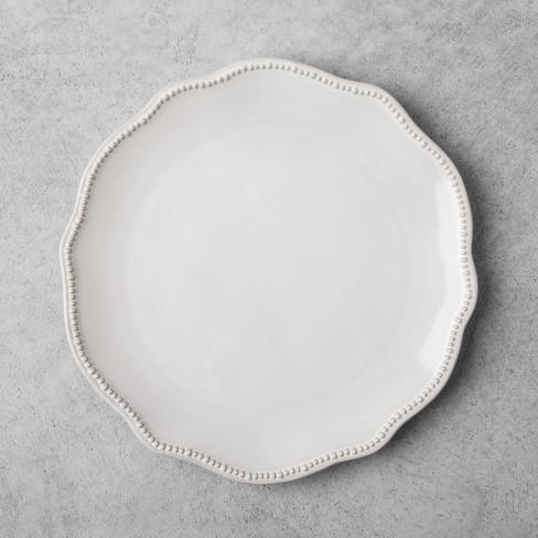 Stoneware Dinner Plate - Cream - Hearth & Hand™ with Magnolia - image 1 of 4