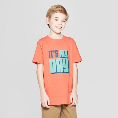 Boys' Short Sleeve Birthday Graphic T-Shirt - Cat & Jack™