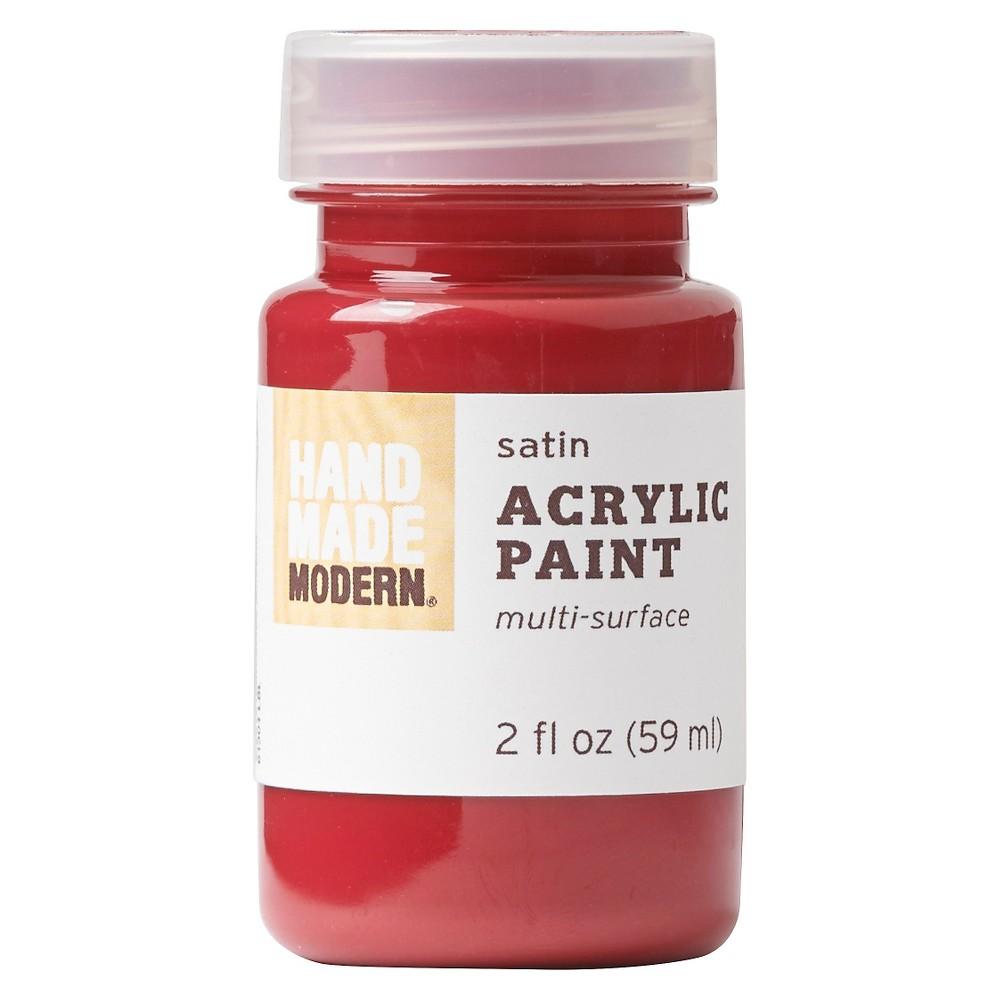 Image of 2oz Satin Acrylic Paint - Brick Hand Made Modern