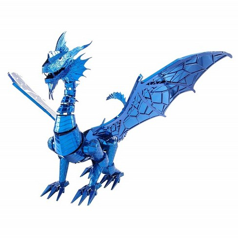 Fascinations ICONX Blue Dragon 3D Metal Model Kit - image 1 of 3