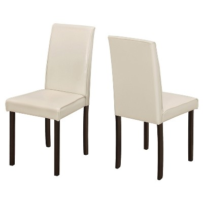 2pc Dining Chair Faux Leather- EveryRoom