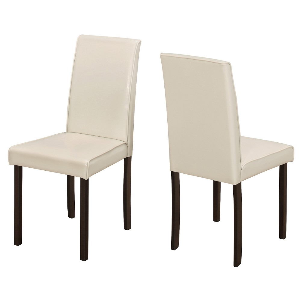 2pc Dining Chair Leather EveryRoom