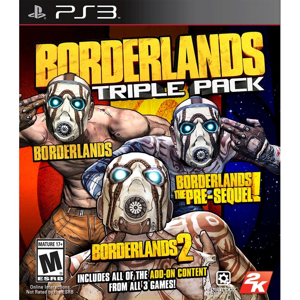 Image of 2K Games Borderlands: Triple Pack PlayStation 3