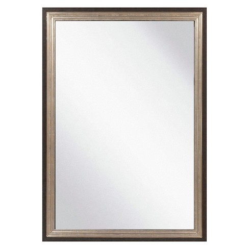 Rectangle Chatwyn Decorative Wall Mirror Onyx - Surya - image 1 of 1