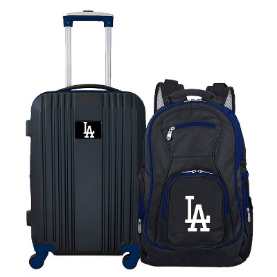MLB Los Angeles Dodgers 2 Pc Carry On Luggage Set