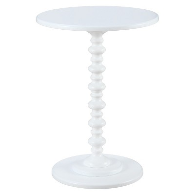 Palm Beach Spindle Tame End Table - Convenience Concepts