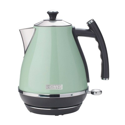 Haden Cotswold 1.7L Stainless Steel Electric Kettle - Light Green