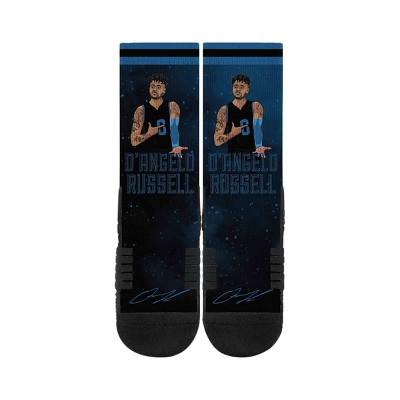 NBA Minnesota Timberwolves D'Angelo Russell Galaxy Socks