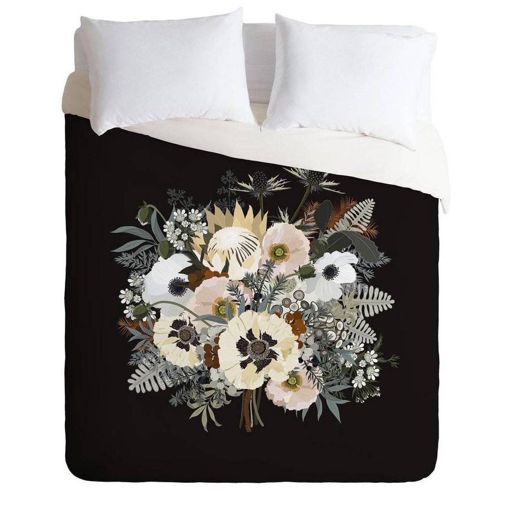 Full/Queen Iveta Abolina Comforter & Sham Set Black - Deny Designs