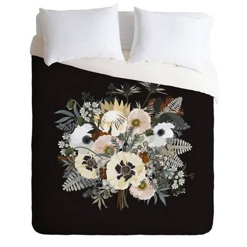 Iveta Abolina Elsa Floral Comforter & Sham Set - Deny Designs - image 1 of 2