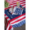 Stars & Stripes Tablecloth - Design Imports - image 4 of 4