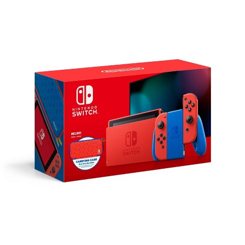 Nintendo Switch Mario Red & Blue Edition - image 1 of 4