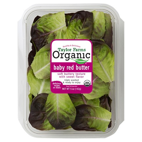 Taylor Farms Organic Baby Red Butter Lettuce - 5oz - image 1 of 1
